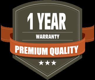1 year warranty on all stabilizers