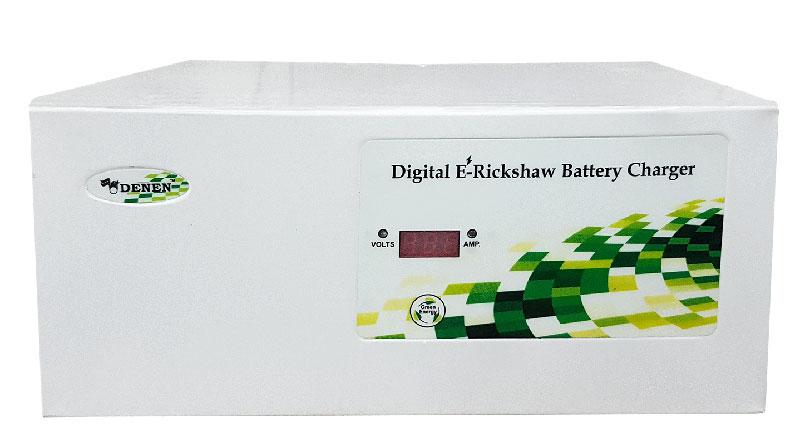 Battery charger for e-rickshaw
